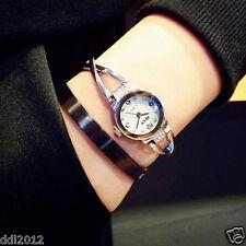 Fashion Women Lady Crystal Dial Analog Quartz Dress Watches Bracelet Wrist Watch
