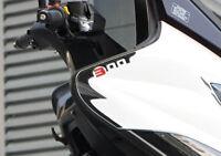 2 ADESIVI in GEL 3D PROTEZIONE SPIGOLI compatibili per scooter kymco XCITING 300