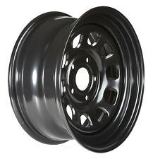 Black steel rims 16x8 XF ET 10 5x127 CB72 Jeep Grand Cherokee WJ