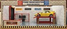 1/18 1/24 Diorama Base Plus Garage Items Otto  Minichamps  Autoart