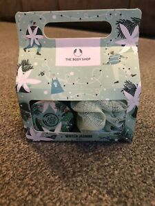 Brand New Body Shop Winter Jasmine Duo gift set