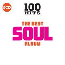 100 HITS-BEST SOUL-NEW DIGIPACK ED.-BILLY PAUL,LABELLE, MFSB,RAYDIO/+  5 CD NEUF