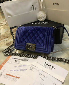 Chanel boy mini bag authentic