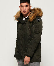 Superdry Mens Commando Heavy Parka Jacket