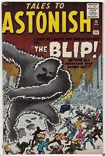 Tales to Astonish #15 Pre-Hero Marvel bLip- Electro Prototype Kirby Ditko 7.0