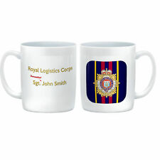 Unique PERSONALISED with Recipient's Name 11ozs Drinks Mug Royal Logistics Corps