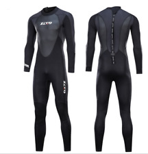 Women Men 3mm Neoprene Scuba Snorkeling Dive Suits Free Dive Long Warm Wetsuits
