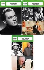 FICHE CINEMA x3 :  CURD JURGENS DE 1935 A 1981 -  Allemagne (Biographie/Filmogra