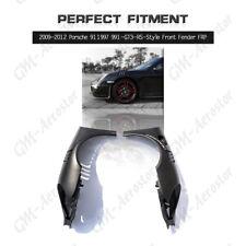 Fiber Glass FRP 991-GT3-RS Style Front Fender For 2009-2012 Porsche 911/997
