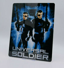 UNIVERSAL SOLDIER - Glossy Bluray Steelbook Magnet Cover (NOT LENTICULAR)