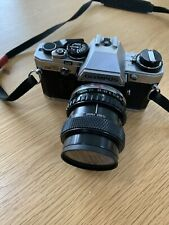 Olympus OM10 35mm SLR Film Camera with Lens