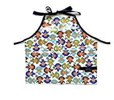 Kids Monkey Apron Cooking Arts & Crafts Garden Daycare Preschool Supplies