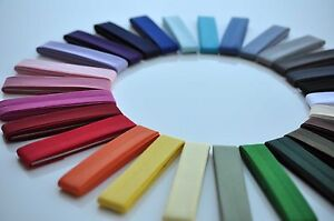 Best Quality Polycotton Bias Binding 2.5m Packs Lots Of Colours Fast Dispatch