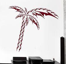 Wall Vinyl Decal Palms Beach Ocean Sea Vacation Amazing living Room Decor z3915