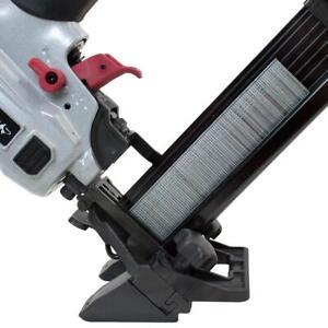 Husky Pneumatic Mini Flooring Nailer Stapler Combo Air Tool 18 Gauge 1-5/8 Inch