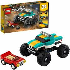 LEGO 31101 Creator 3-IN-1 Model Monster Truck Muscle Car & Dragsta Building Set