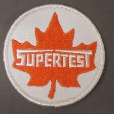 "SUPERTEST Gasoline Canada hydroplane boat RACING 3"" shirt jacket patch tr1"