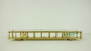 Overland Models HO Scale Brass Unpainted Bi-Level Open Auto Rack OMI-1354 NEW