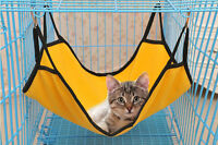 Home Pet Cat Dog Pro Cage House Hammock Soft Fleece Animal Hanging Bed