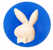 Bunny with Bow Tie Mini Silicone Mold for Fondant, Gum Paste, Chocolate Q065