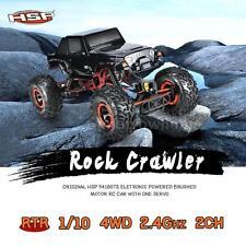 HSP 94180T2 1/10 2.4G 2CH 4WD Electronic Brushed Motor Rock Crawler RC Car N5B7