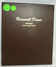Dansco Album - Roosevelt Dimes Including Proof- Only Issues set - MH854