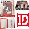 1D Notebook One Direction Lined Diary Pads Notepad Agenda Free Pen Note Book