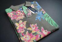 POLO RALPH LAUREN Men's Classic Fit Tropical Print Polo Shirt NEW NWT