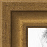 ArtToFrames 16x26 inch Mahogany and Burgundy with Beaded Lip Picture Frame 2WOMN9590-16x26