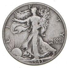 1943-D Walking Liberty 90% Silver US Half Dollar *207