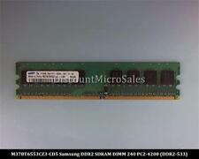 Samsung M378T6553CZ3-CD5 DDR2 512MB PC2-4200 Non ECC 533Mhz RAM Memory