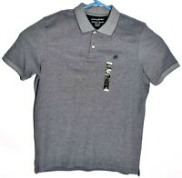 Banana Republic NEW Mens Polo Shirt Gray Size XL Short Sleeve Regular Fit