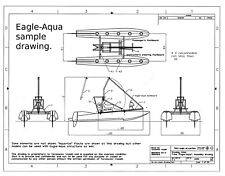 Eagle-Aqua weight-shift aircraft chassis plans (experimental or ultralight)