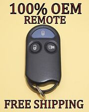 OEM NISSAN QUEST MERCURY VILLAGER KEYLESS ENTRY REMOTE FOB TRANSMITTER GQ43VT8T