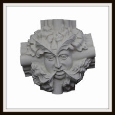 WINCHESTER CATHEDRAL GREEN MAN ~ GREENMAN WALL PLAQUE ~ GARDEN OR HOME UK MADE