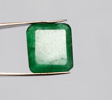 Certified Natural Gem Emerald Cut 08.70 Ct. jewelry Colombian Panna Gemstone 627