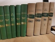 Law Reports Queens Bench Division 1952 to 1991 book s Every Year 40 books (B)