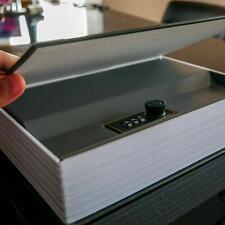 Caja Fuerte para Libros con Cerradura de Combinación Caja De Seguridad Portatil