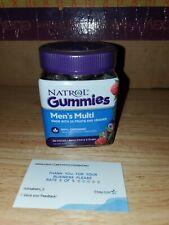 Natrol - Men's Multi Gummies 90 Organic Berry Cherry & Grape Gummies Exp 02/20