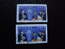 SUEDE - timbre yvert et tellier n° 2058 x2 obl (A29) stamp sweden