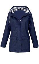 Ladies Jacket-Plus Size-Waterproof Raincoat