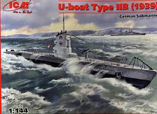 ICM 1/144 Type IIB U-Boat (1939) # S009