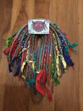 Ready Made Full Head Set Of Double Ended Wool Dreads Dreadlocks