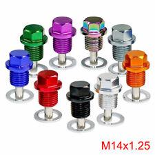 Hot M14 x 1.5MM Magnetic Engine Oil Drain Plug Screw Nut Bolt Oil Drain Sump Nut