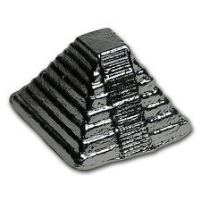 5 oz Silver - Yeager Poured Silver (3D Aztec Pyramid) - SKU #97559