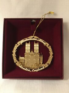 Baldwin Ornament Westminster Abbey Macy's Store Exclusive 2003 Beautiful
