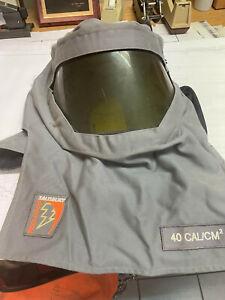HONEYWELL SALISBURY FH40GY ARC FLASH HOOD 40 CAL/CM2 PRO-HOOD