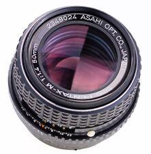 Pentax M 50 mm f 1,4 SMC Pentax K SN: 2348024 Top Prime Lens