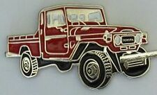 Toyota Landcruiser FJ79-HJ79 LWB Pickup /Ute hat pin badge    C041202  -- Red --