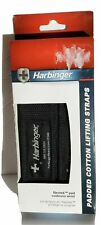New in Box Harbinger Padded Weight Lifting Straps Improve Grip and Contact